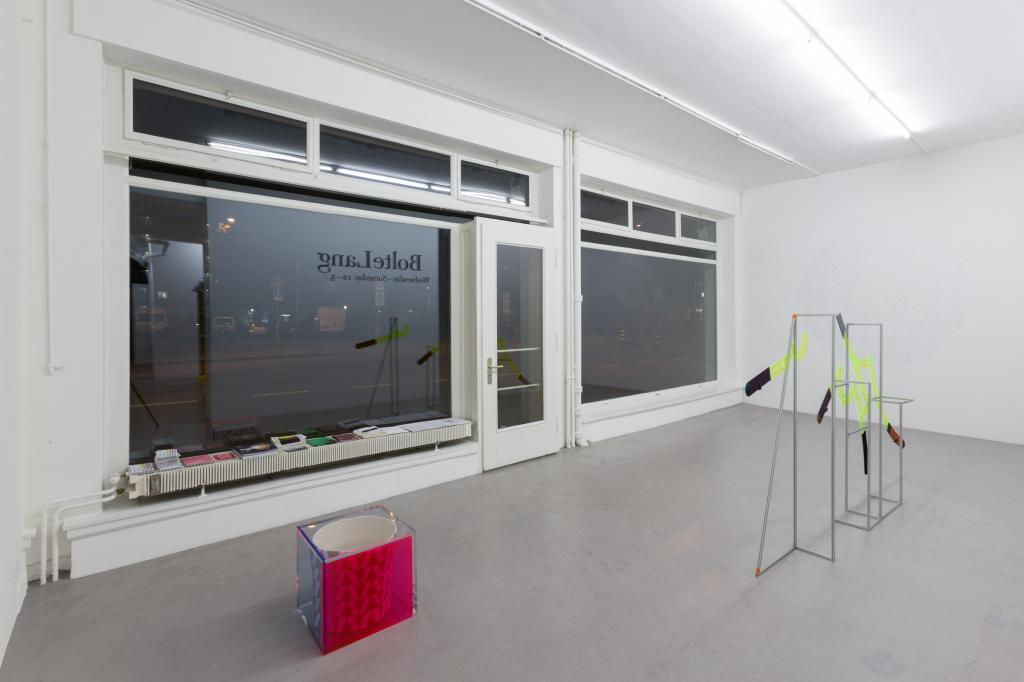 Installation view <i>A chair, projected</i>, 2019