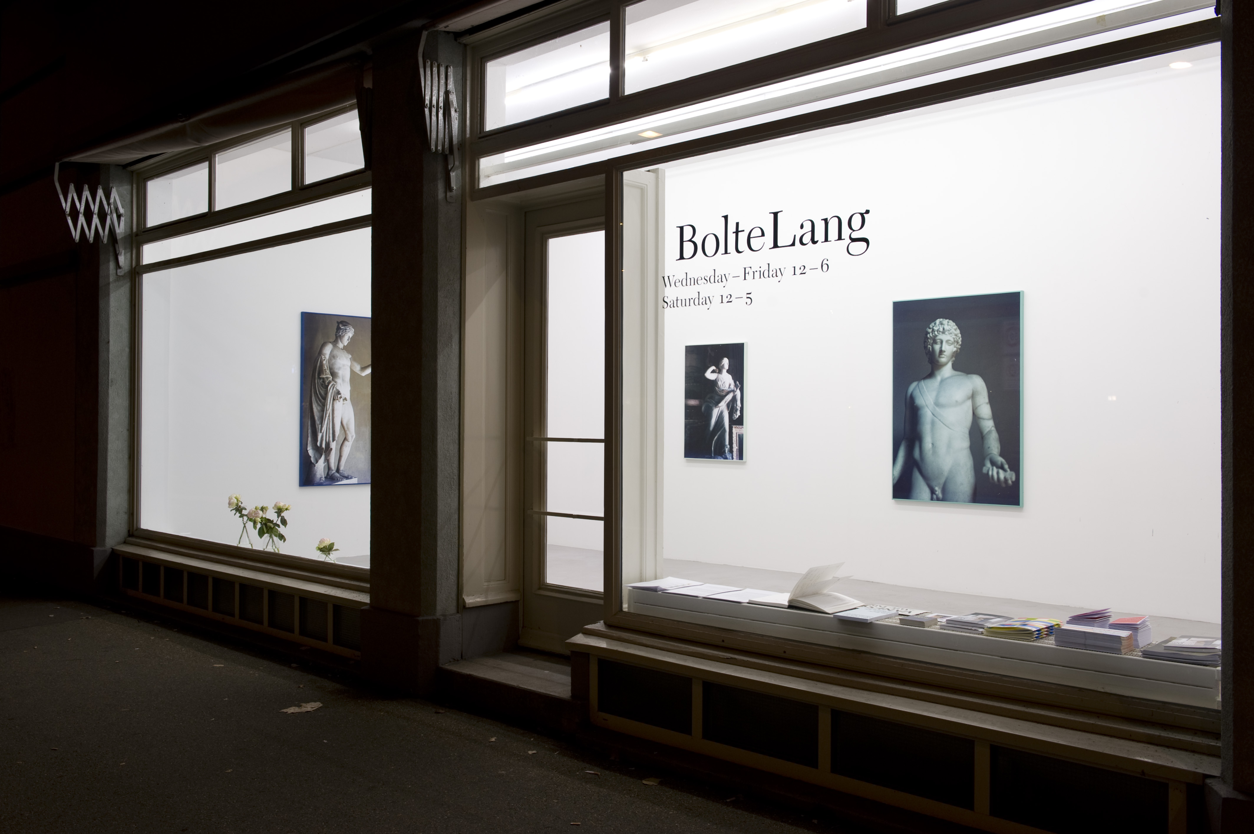 Installation view, <i>a moment in time</i>
