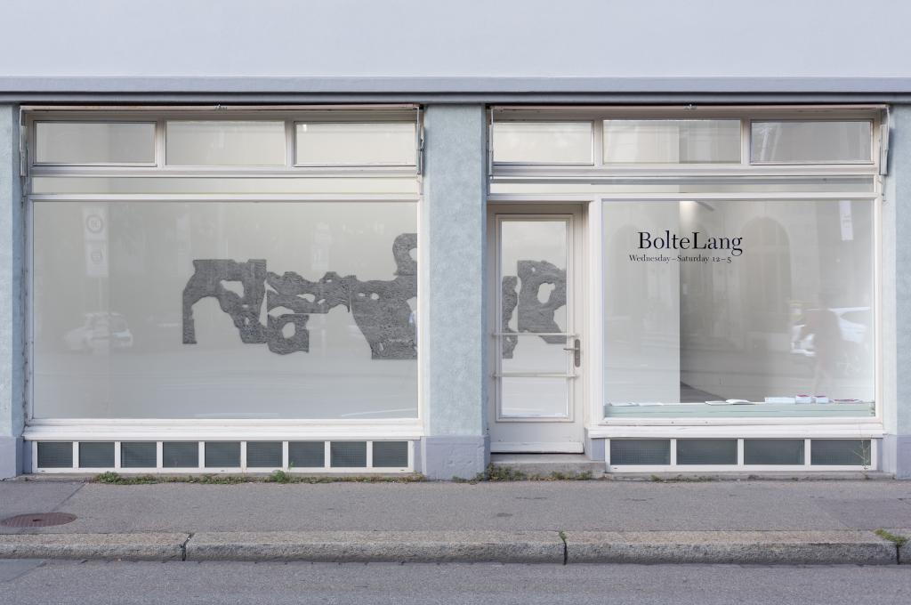 Installation view Alexandra Navratil, <i>Grafted Land</i>, 2017