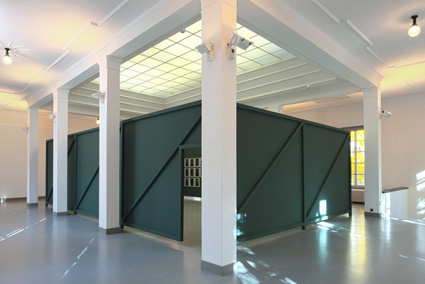 Installation view <i>Bianca Brunner. Gap in the Real</i>, Manor Kunstpreis, Bündner Kunstmuseum, Chur, Switzerland, 2010