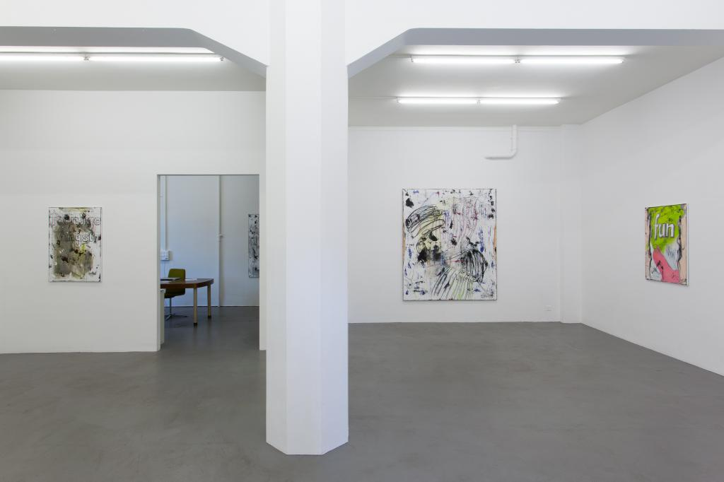 Installation view <i>Dirt Club</i>