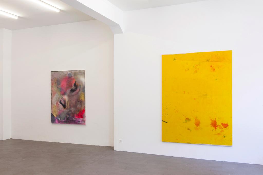 Installation view <i>Charlotte Herzig, Tobias Spichtig, Henning Strassburger</i>