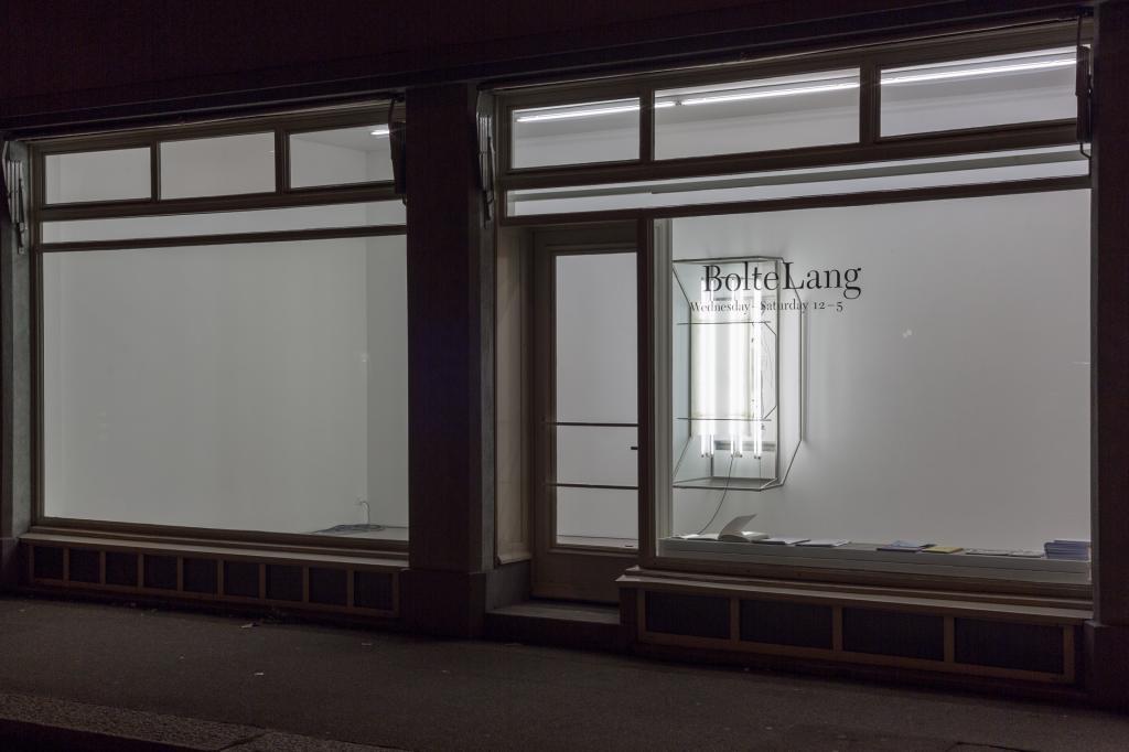 Patrick Hari, installation view <i>diese ecke wurde als verloren aufgegeben</i>, 2018