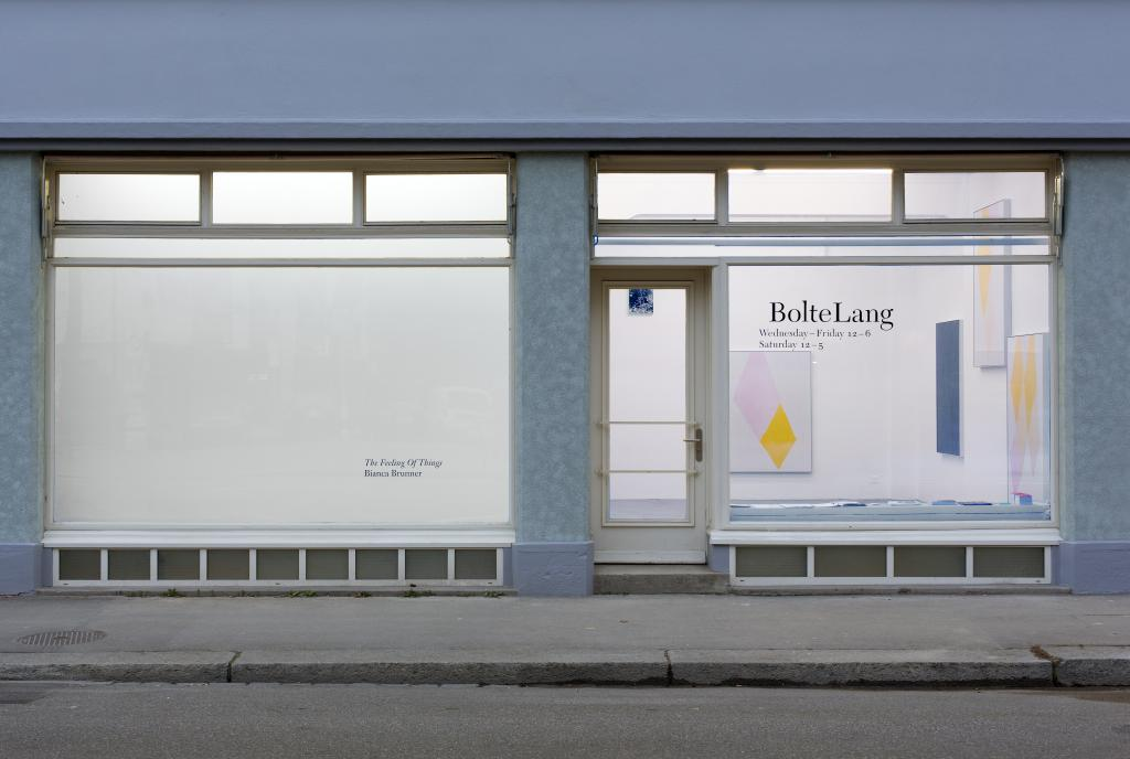 Installation view <i>The Feeling Of Things</i>