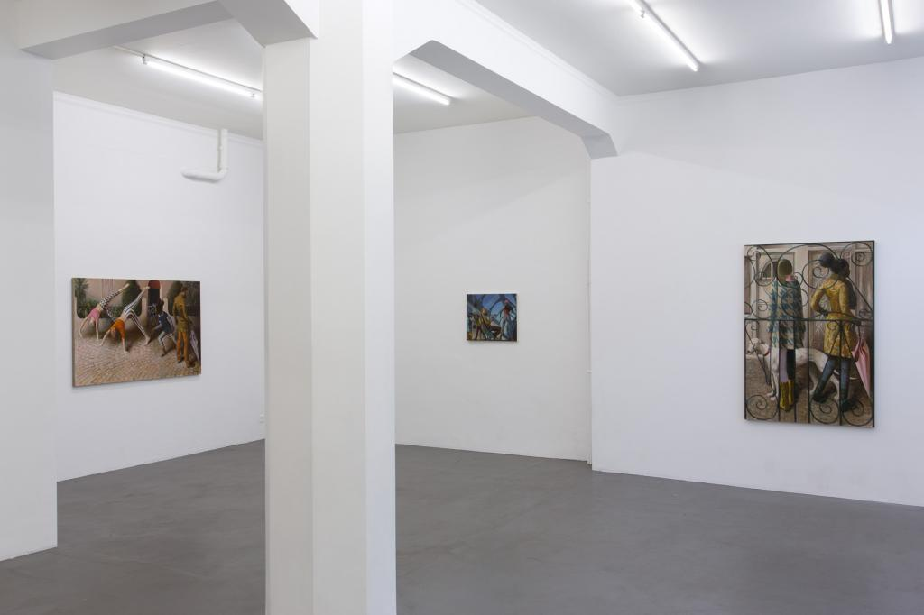 Installation view \'The Upset\'