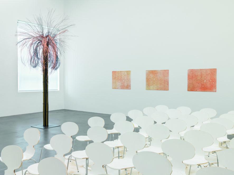 Installation view, <i>Konkrete Gegenwart Jetzt ist immer auch ein bisschen gestern und morgen</i>, 2019, Haus Konstruktiv, Zurich, Switzerland