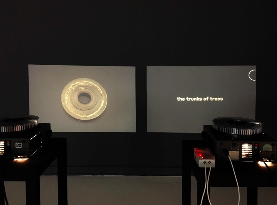 <i>Under Saturn (Act 2)</i>, exhibition view, The Vanishing Operator, Kunsthaus Langenthal, 2018