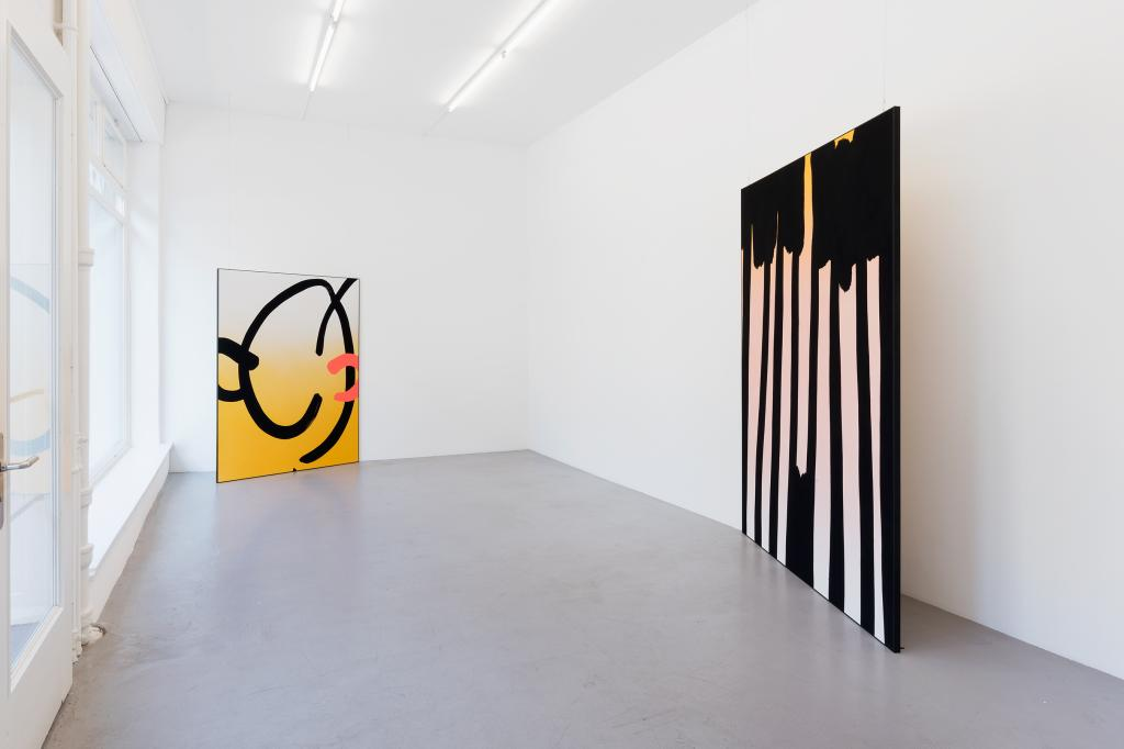 Cornelia Baltes, installation view <i>Mingle Mime</i>, 2018