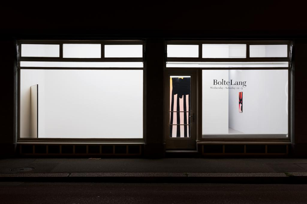 Cornelia Baltes, installation view <i>Mingle Mime</i>, 2018
