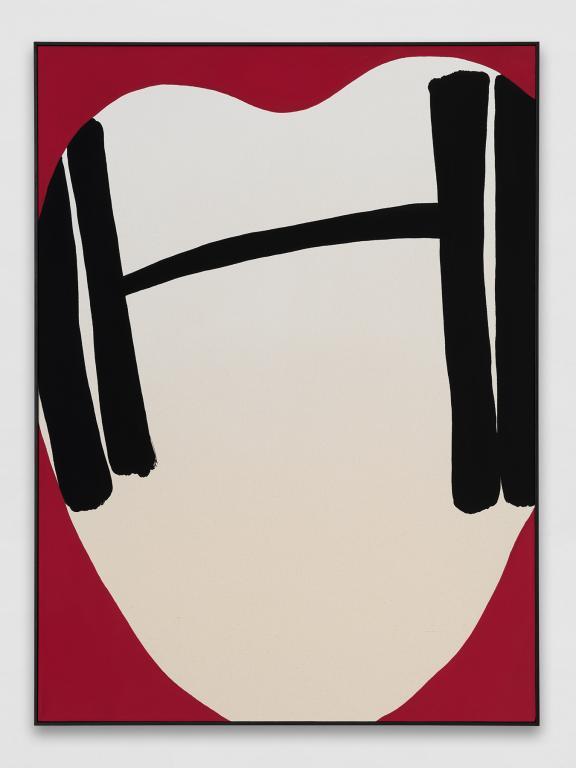 Cornelia Baltes, <i>Garm</i>, 2018, acrylic on canvas, 95 x 70 cm