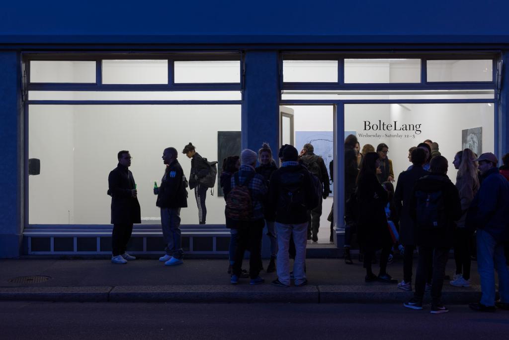 Installation view, Anna Balint, Ralph Bürgin, Gerome Gadient, Manuel Köchli, Marie Matusz, Laura Mietrup, <i>Revitalise</i>, 2018